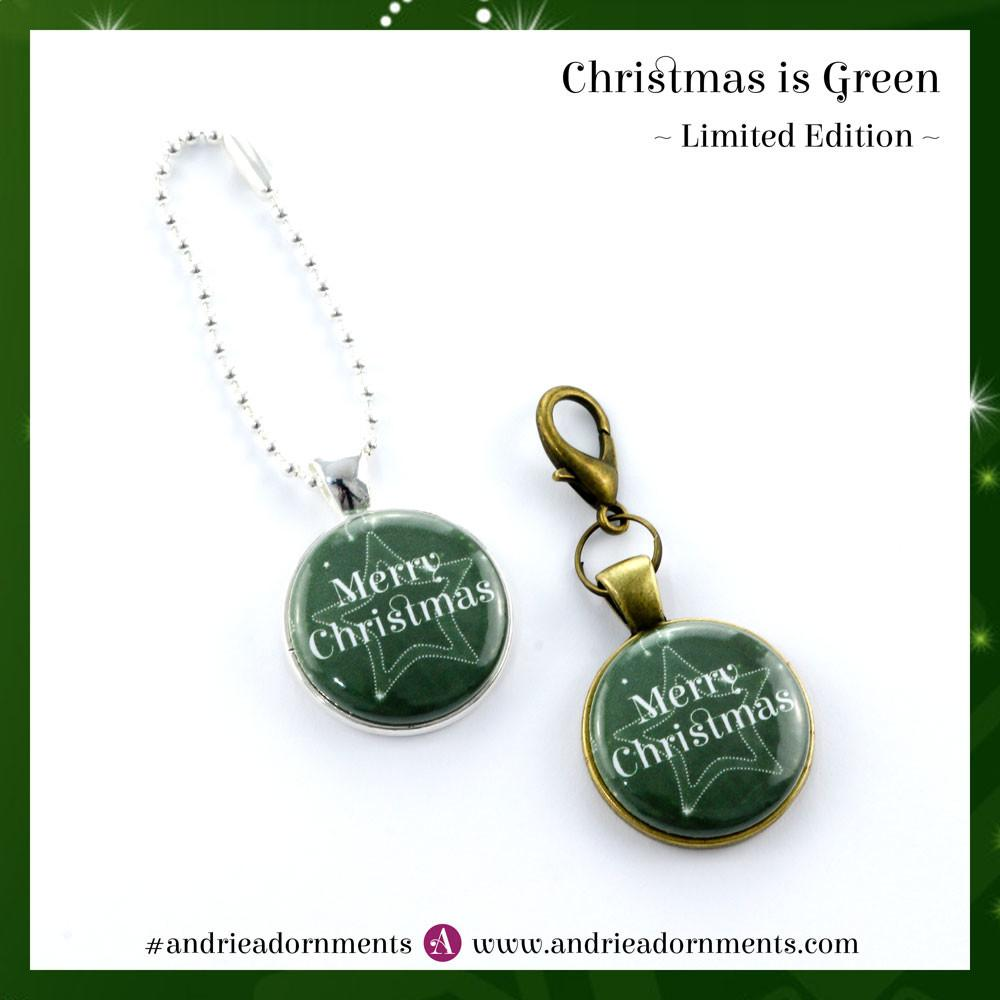 Limited Edition Christmas Green Adornments Andrie