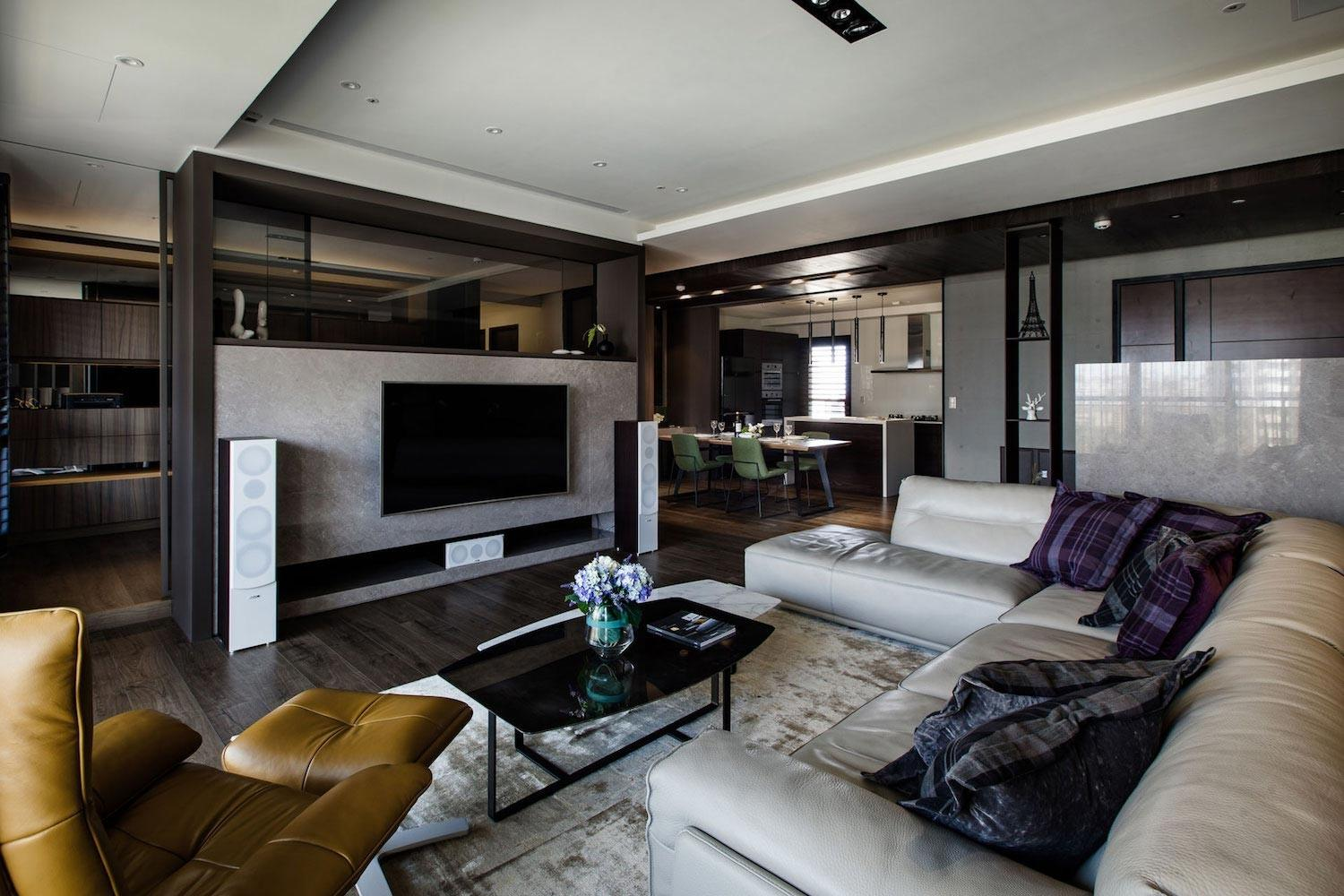 Lin Modern Apartment Kaohsiung City Taiwan Designed