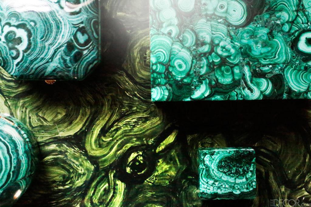 Lindsey Coral Harper Apartment Malachite Collection