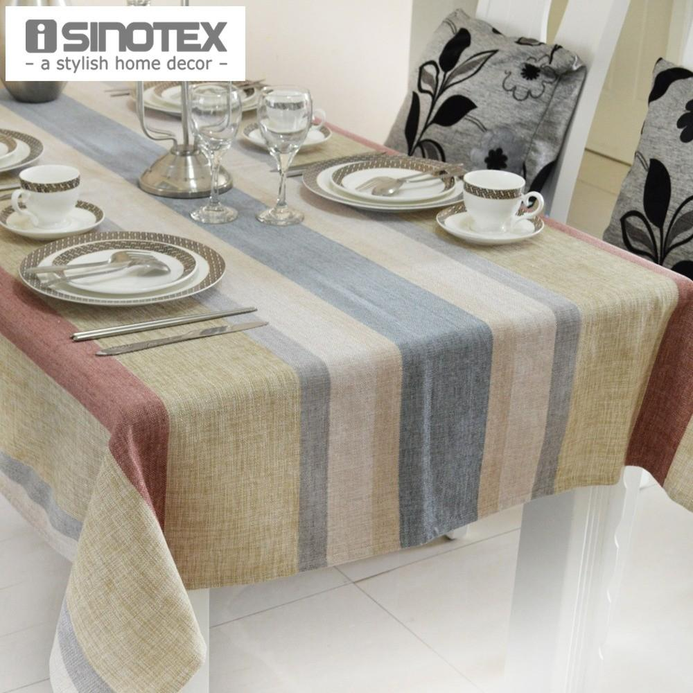 Linen Party Table Cloth Dobby