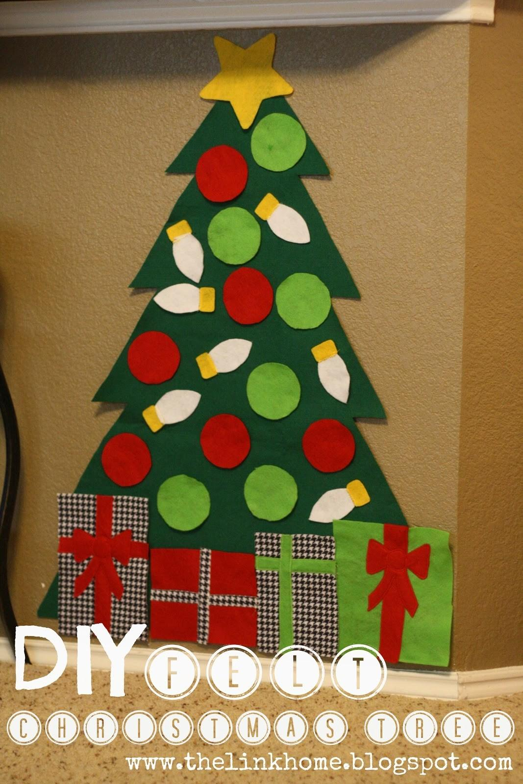 Link Home Diy Felt Christmas Tree