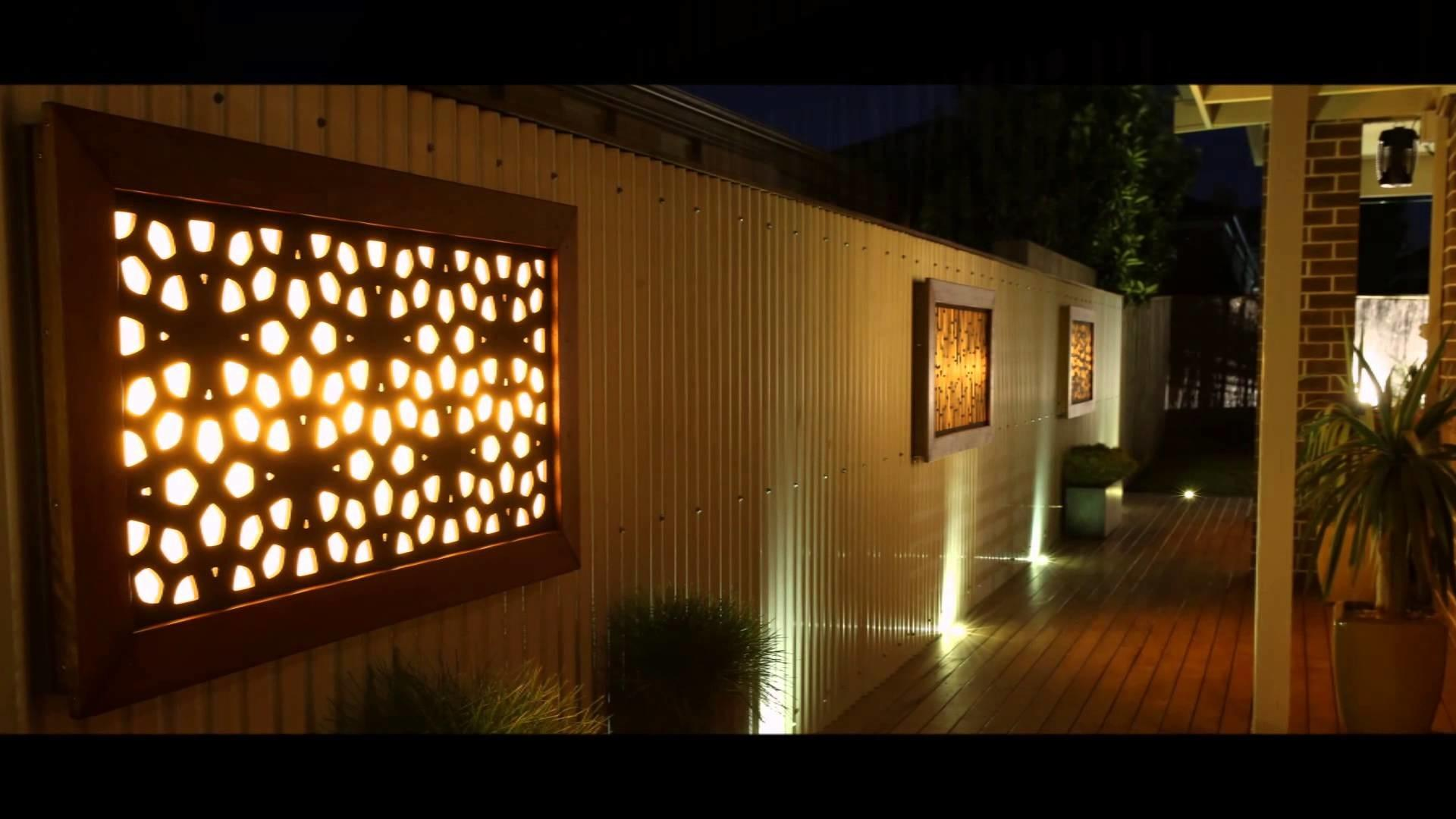 Litecrafts Wall Art Outdoor Feature Led Light Boxes