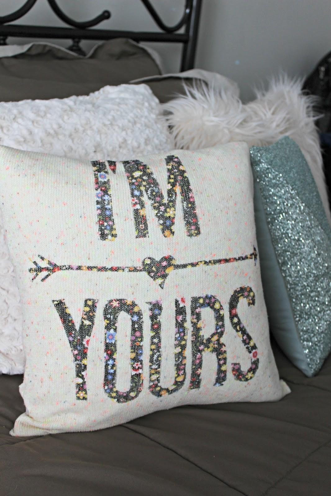 Little Bits Lacey Diy Pillow Sweater