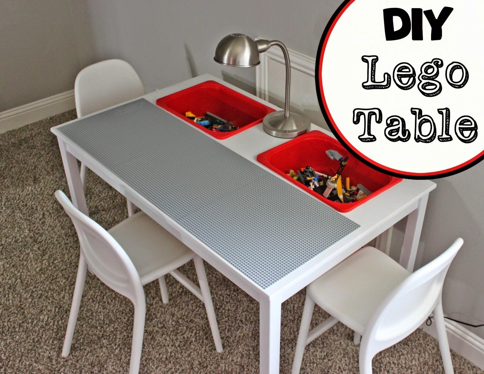 Little Diy Lego Table