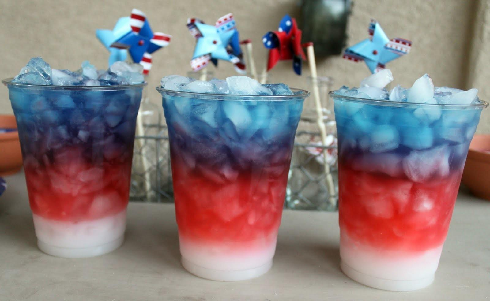 Little Inspirations Red White Blue Drinks