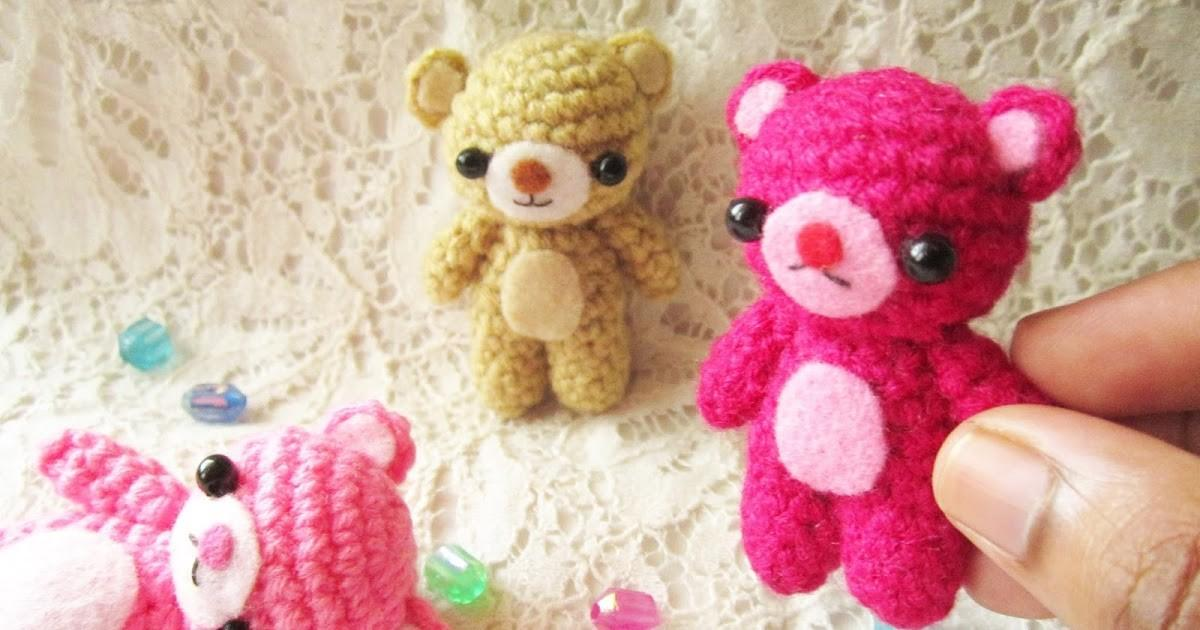 Little Love Everyday Amigurumi Teddy Bear Pattern