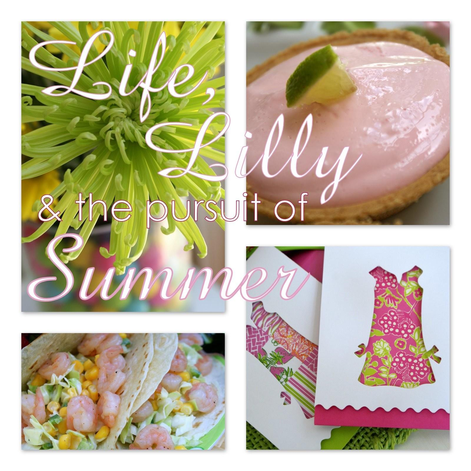 Little Loveliness Lilly Pulitzer End Summer Party