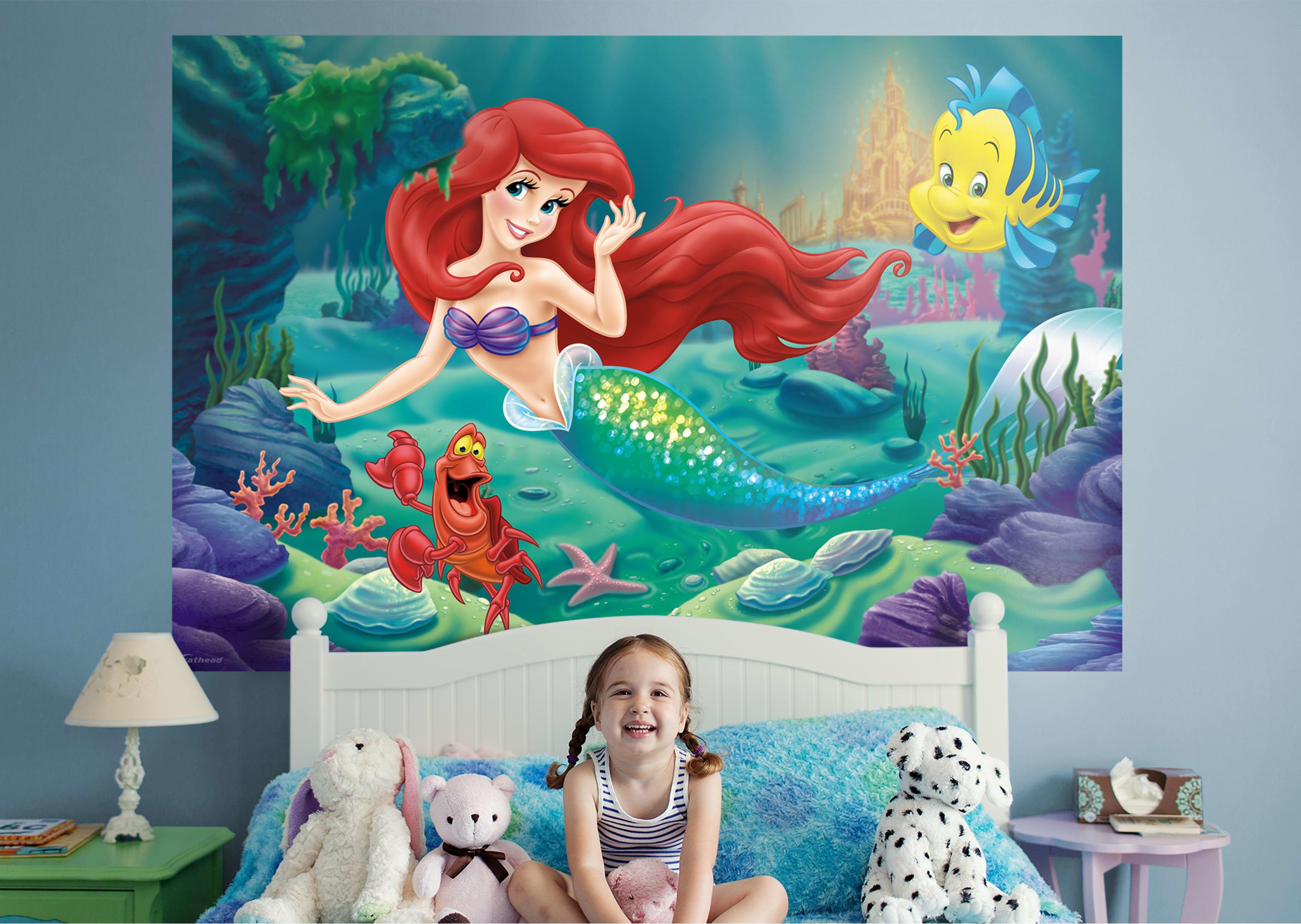 Little Mermaid Mural Wall Decal Shop Fathead