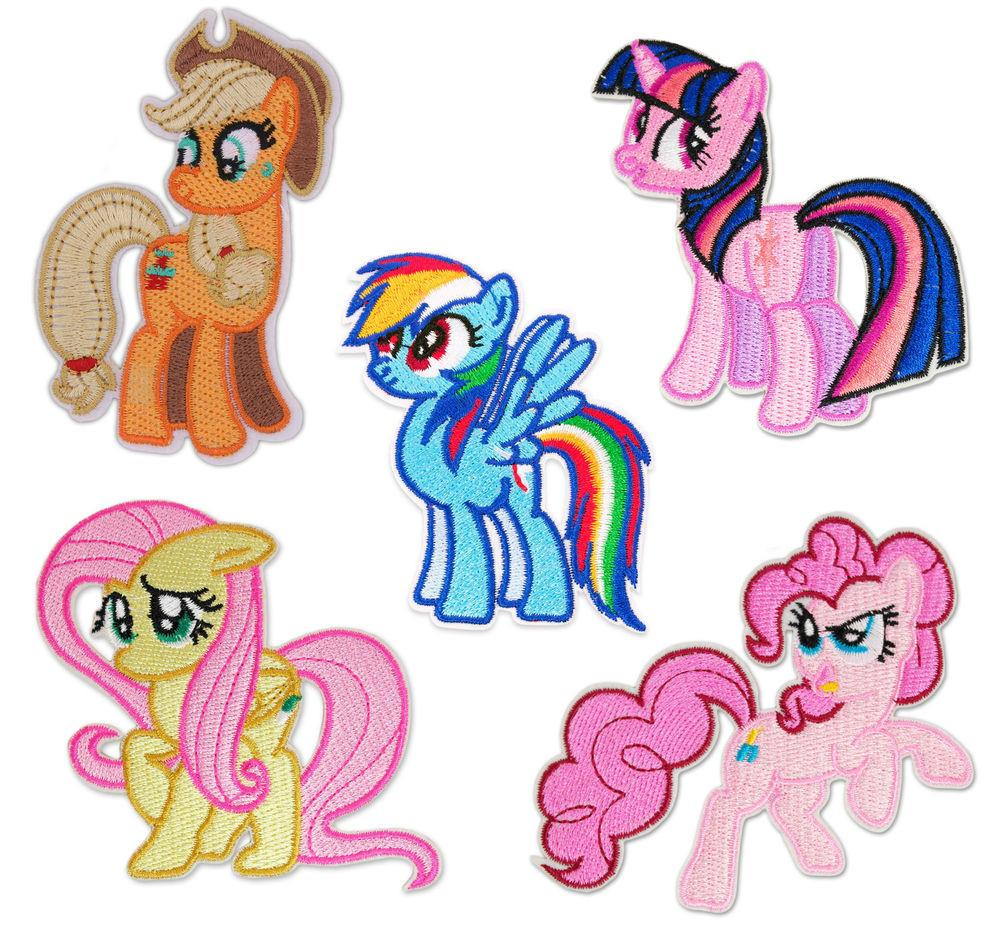 Little Pony Character Iron Sew Patch Badge