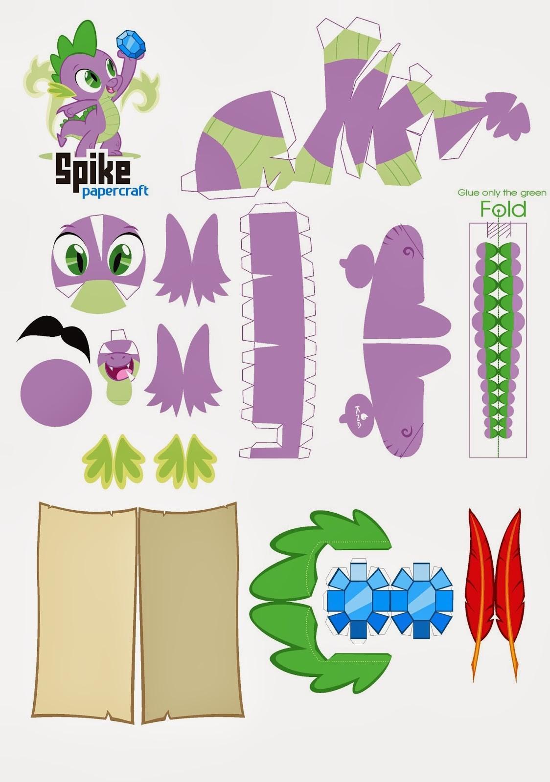 Little Pony Equestria Games Printable Crafts