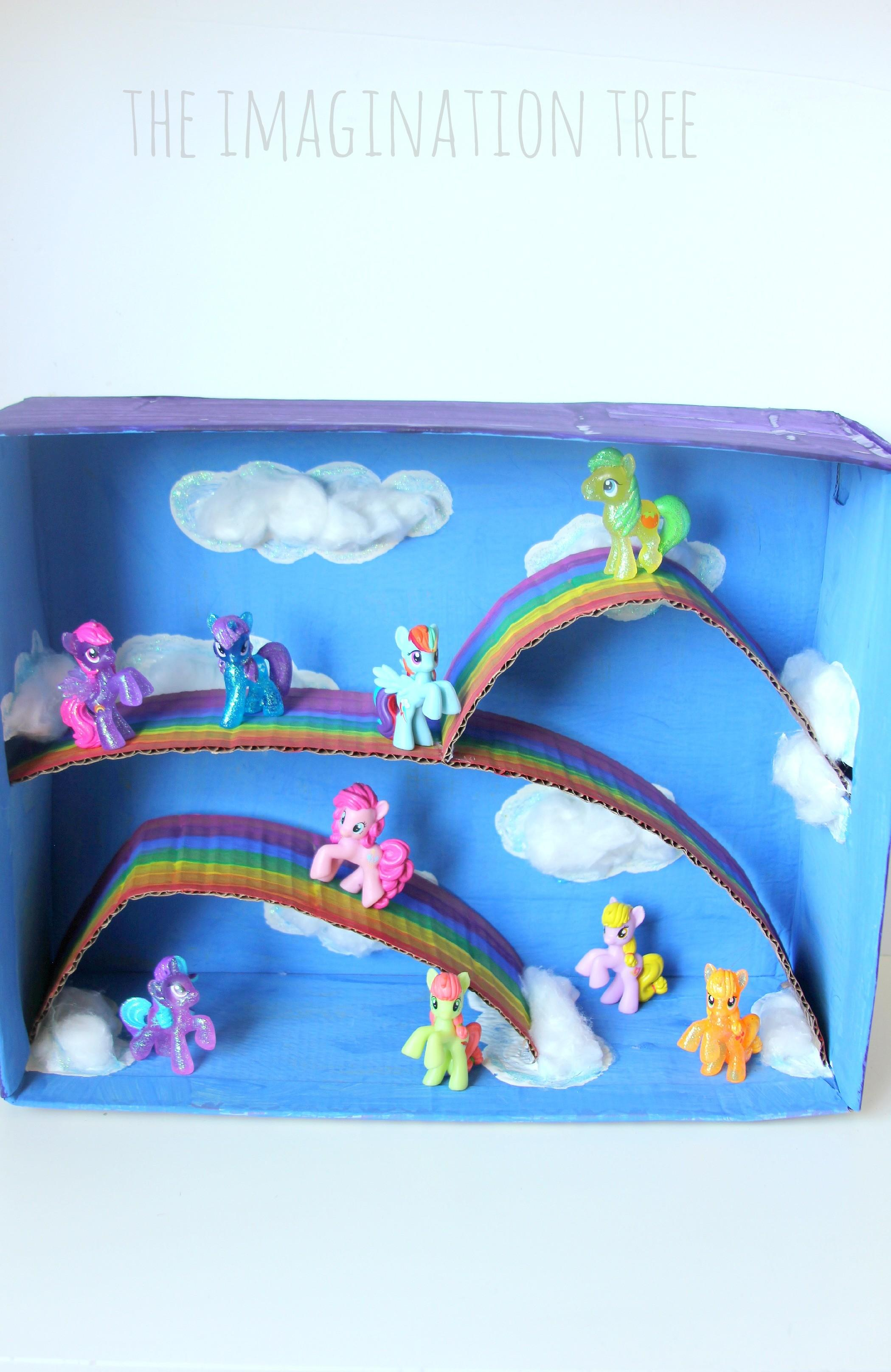 Little Pony Magical Small World Imagination Tree