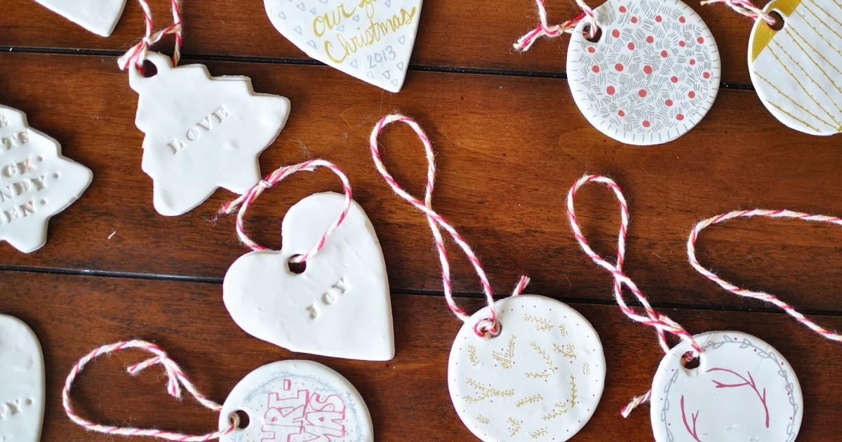 Little Sloth Clay Christmas Ornaments Diy Cheap Easy