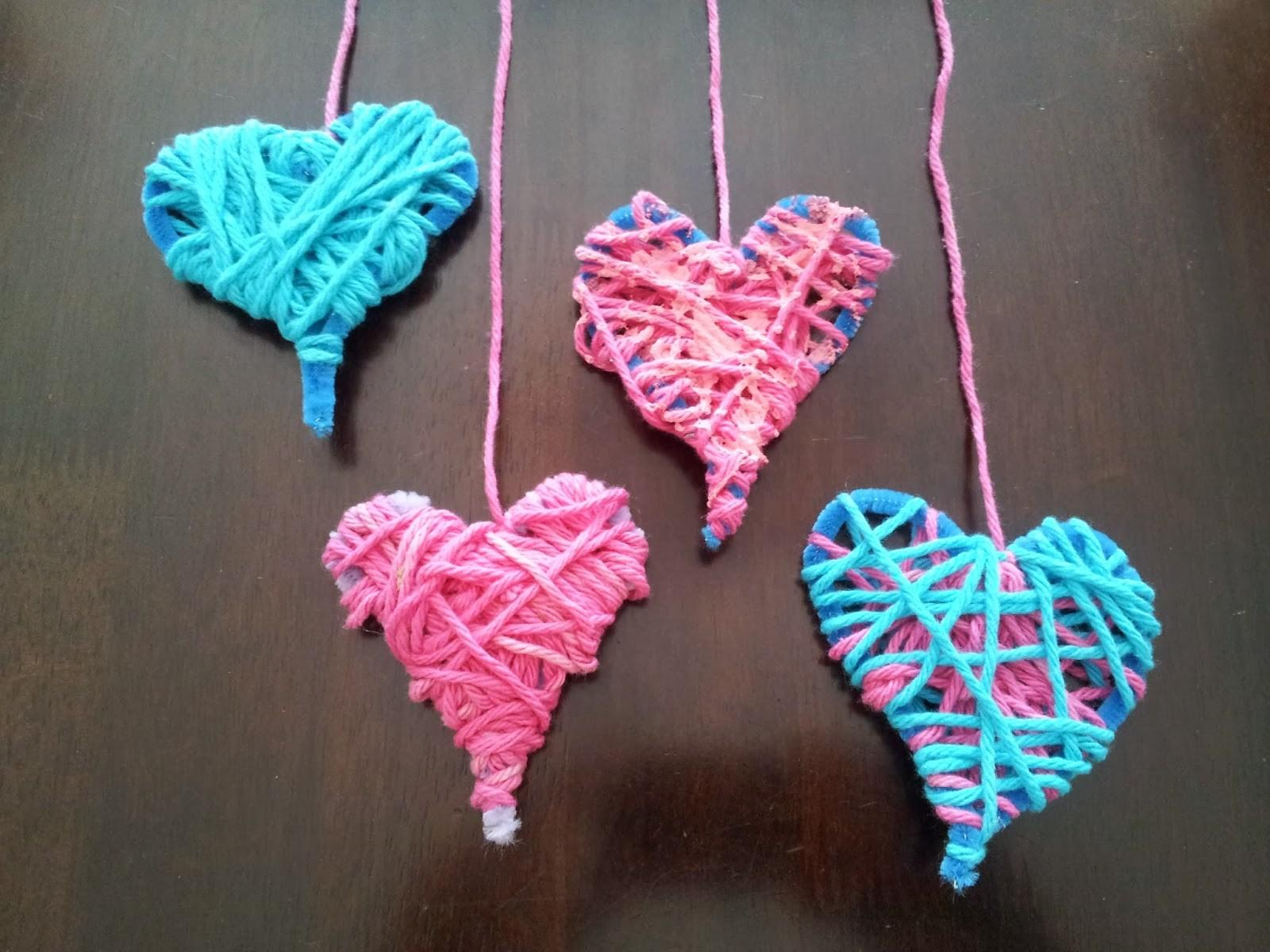 Little Townhome Love Valentine Day Heart Crafts