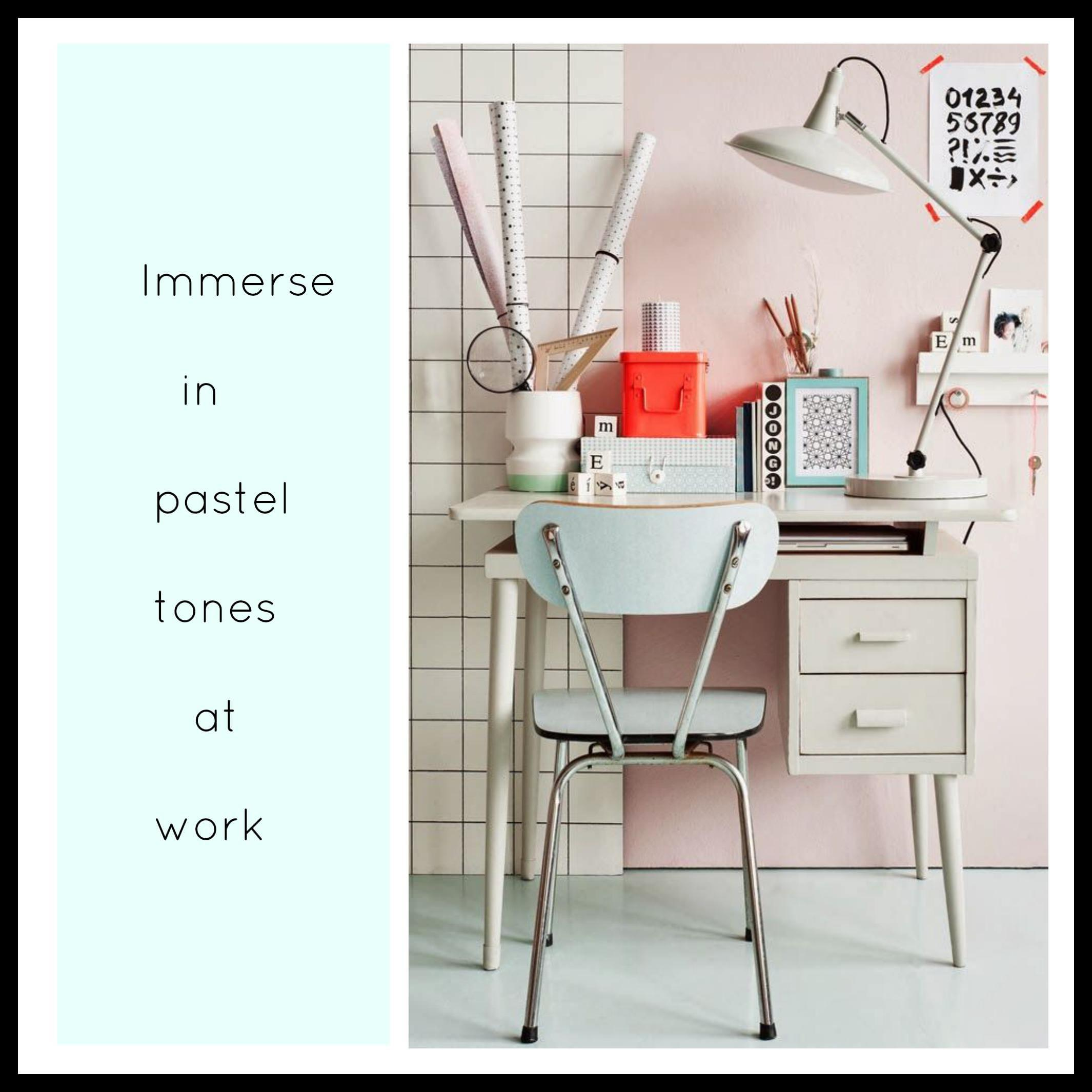 Littlebigbell Pastel Home Office