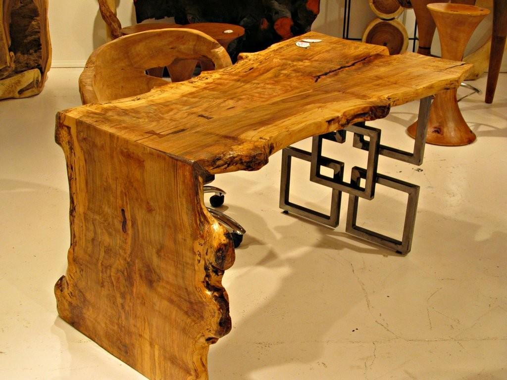 Live Edge Furniture Trend Alert See Hot 2012