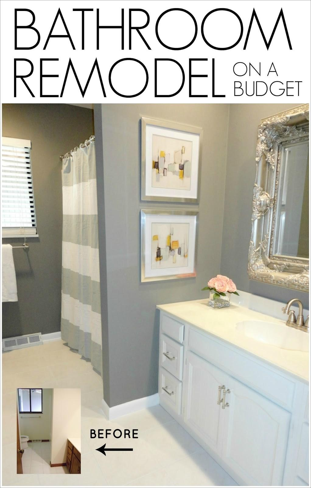 Livelovediy Diy Bathroom Remodel Budget