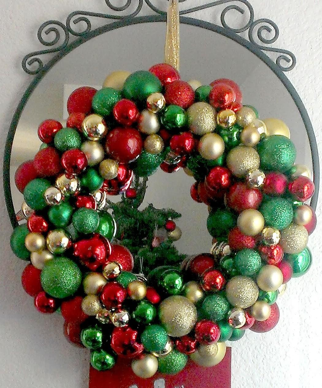 Livelovediy Diy Christmas Ornament Wreath Ideas