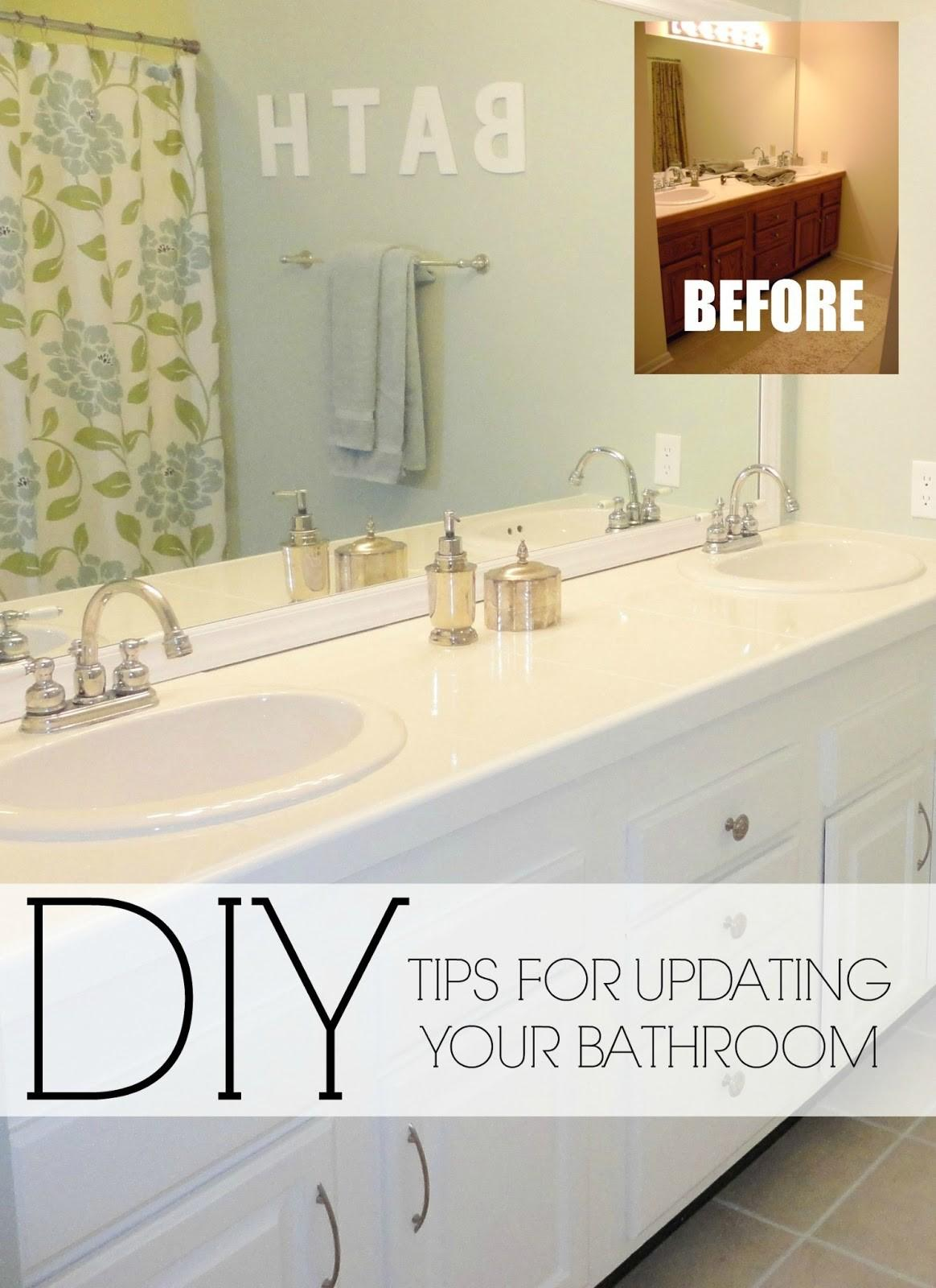 Livelovediy Easy Diy Ideas Updating Your Bathroom