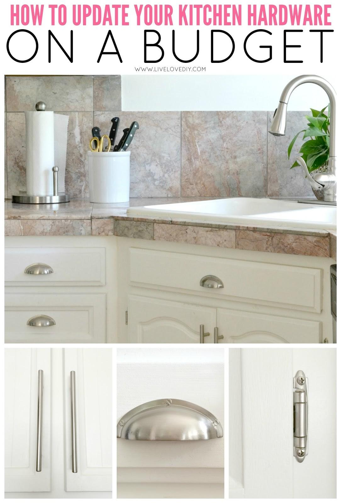 Livelovediy Paint Kitchen Cabinets Easy Steps