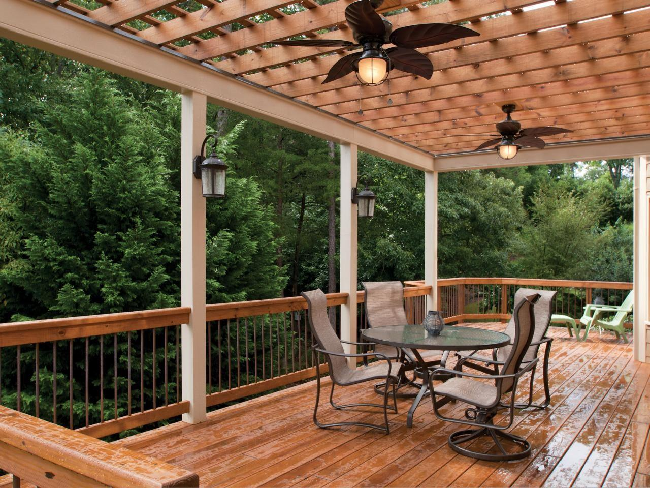 Lively Functional Decorative Outdoor Deck Lighting