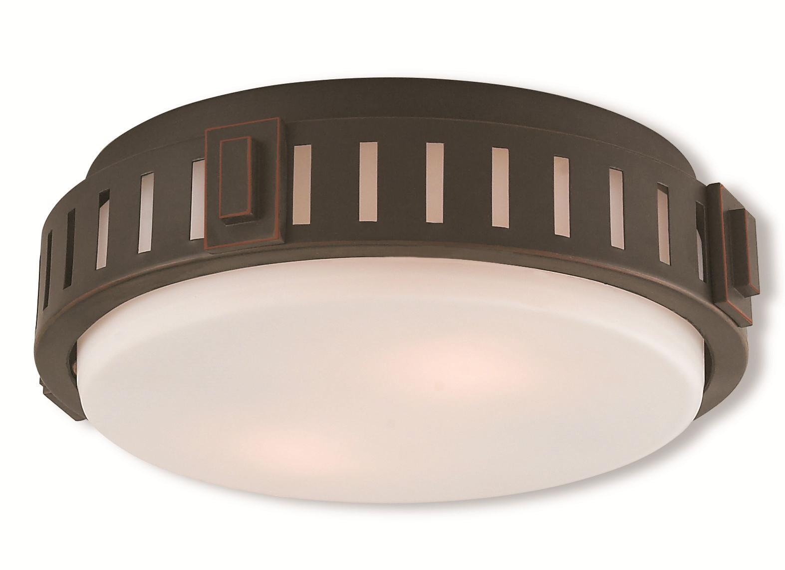 Livex Ceiling Medallion Lighting Portland Bronze