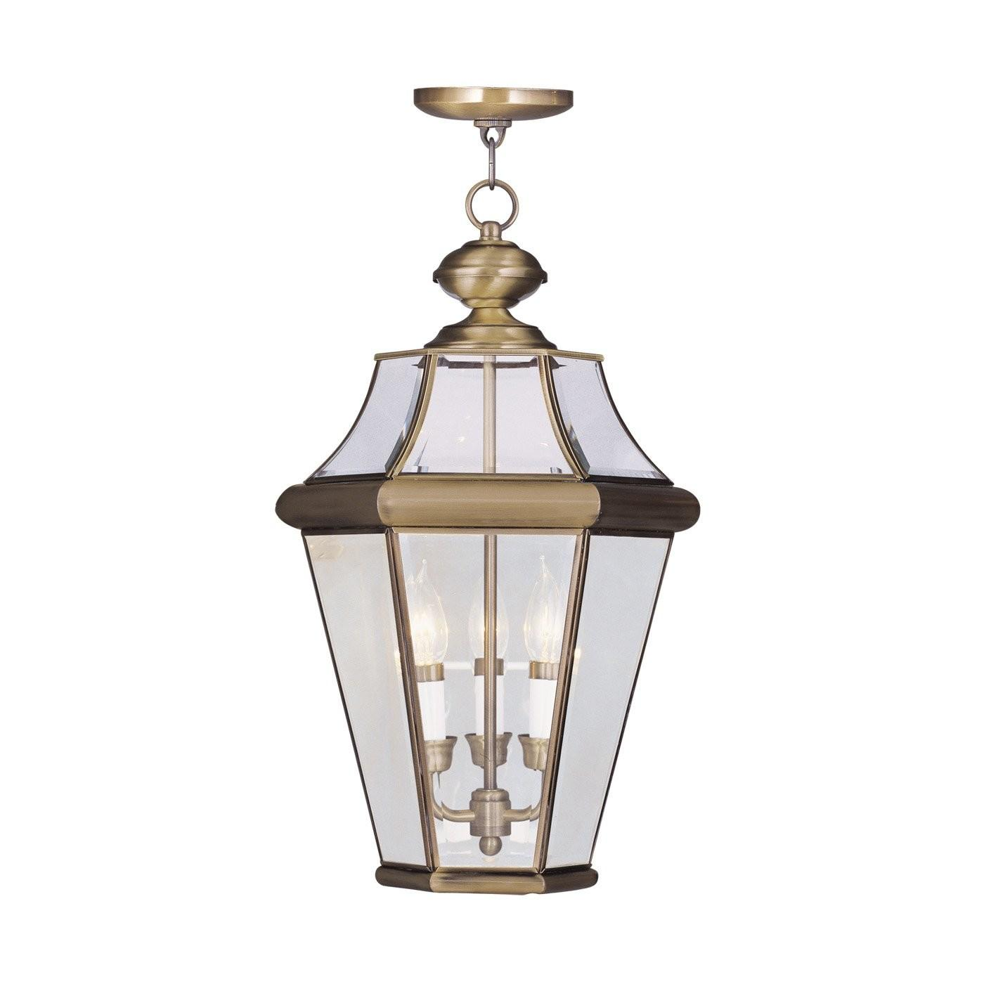 Livex Lighting 2365 Light Georgetown Large Outdoor