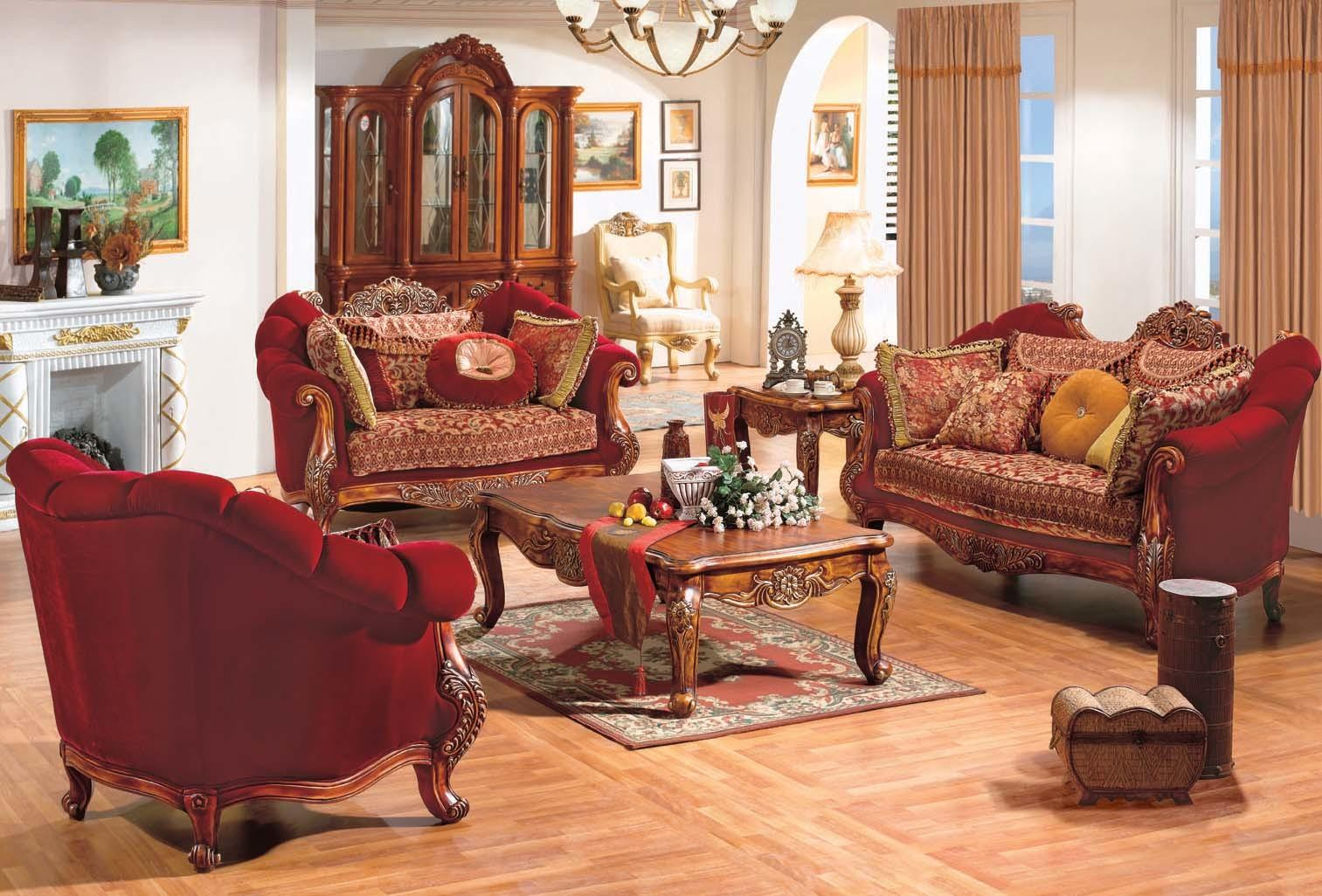 Living Room Admirable French Country Ideas
