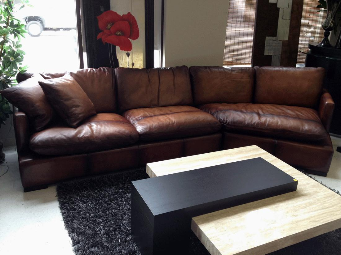 Living Room Benefits Leather Sectionals
