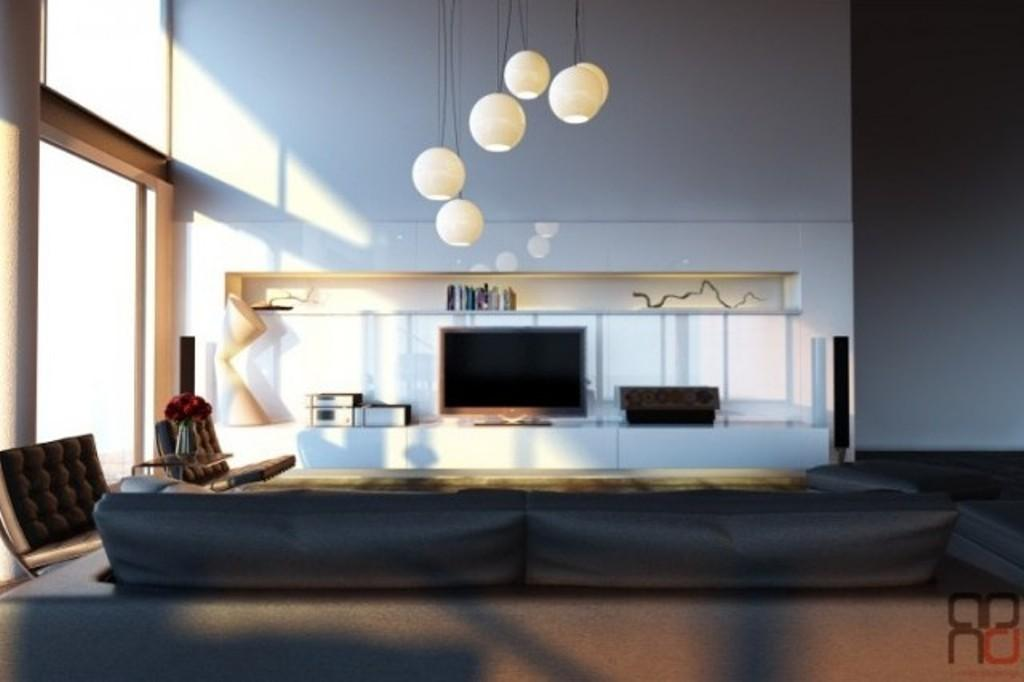 Living Room Ceiling Ideas Discreet Light Family