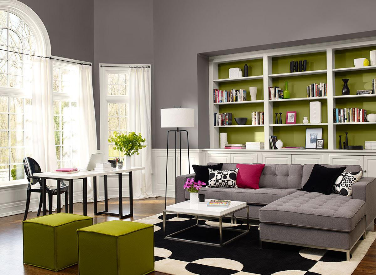 Living Room Color Schemes Gray Decorating Inspiration