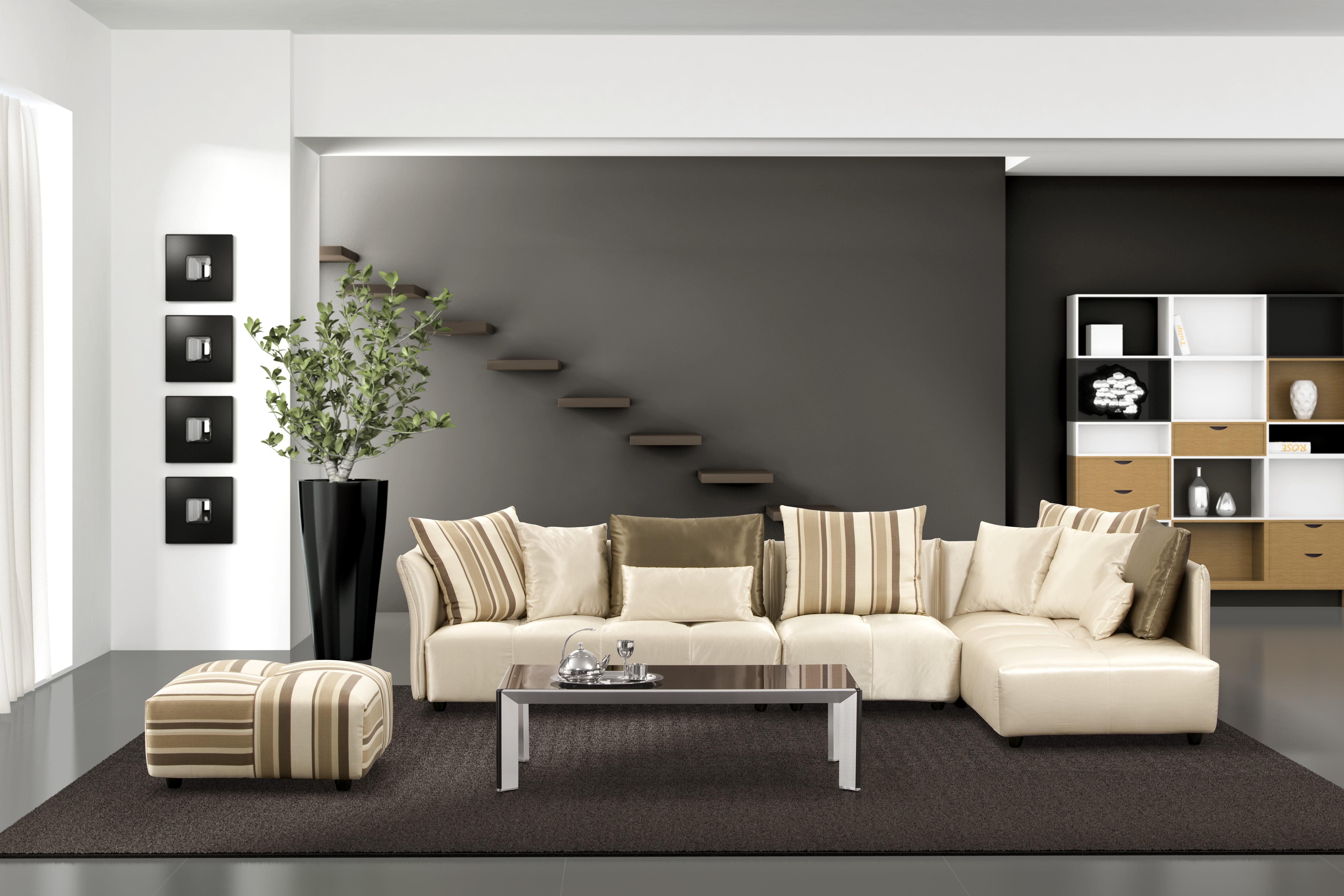 Living Room Elegant Modern Designs