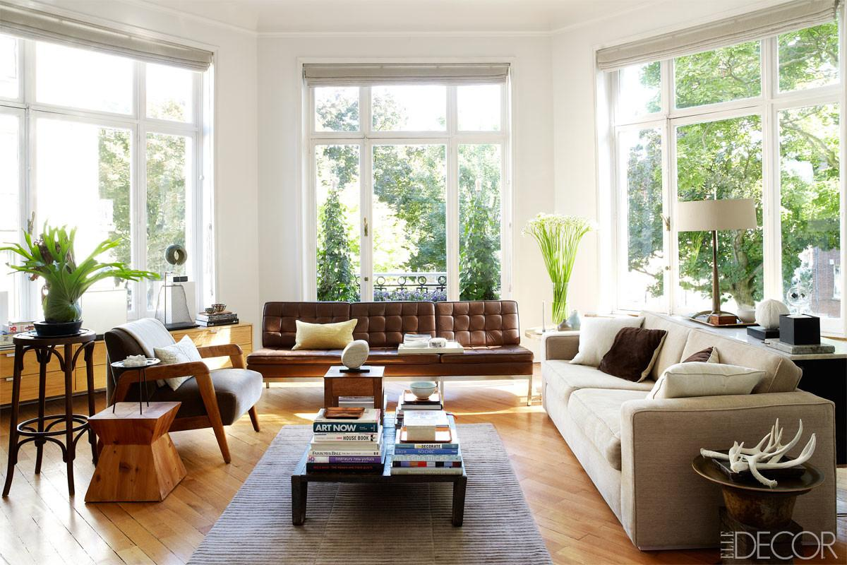 Living Room Elle Decor Eclectic Home Brussels Ideas