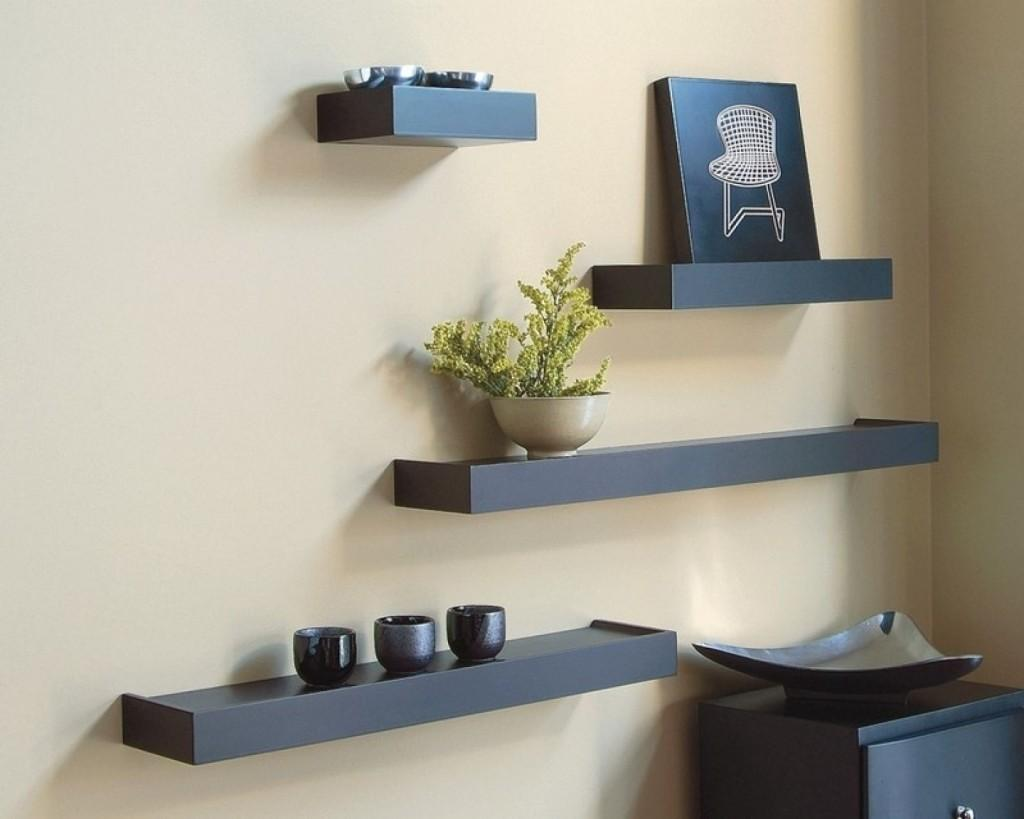Living Room Floating Shelves Finest