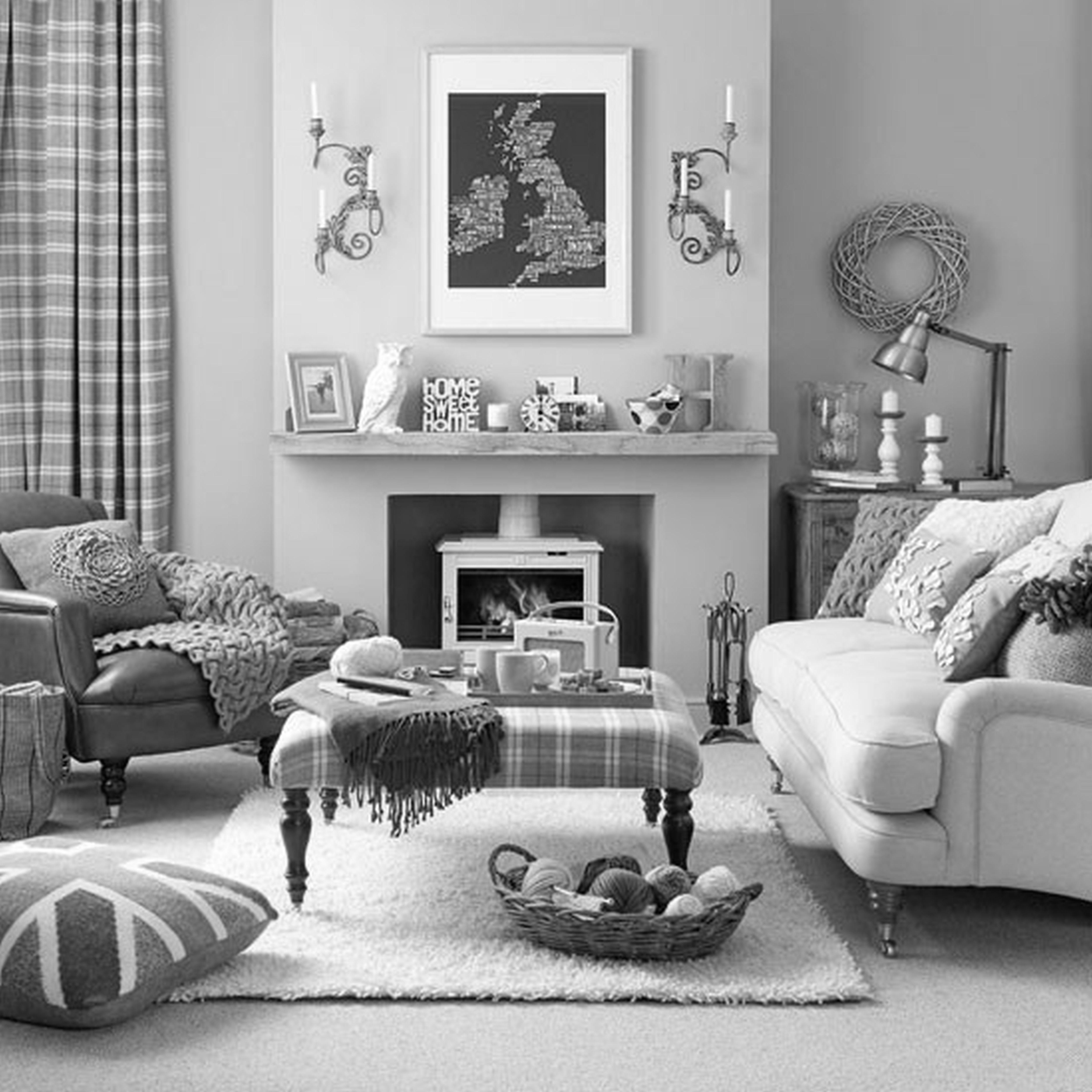 Living Room Grey Ideas Rooms Ideal Home