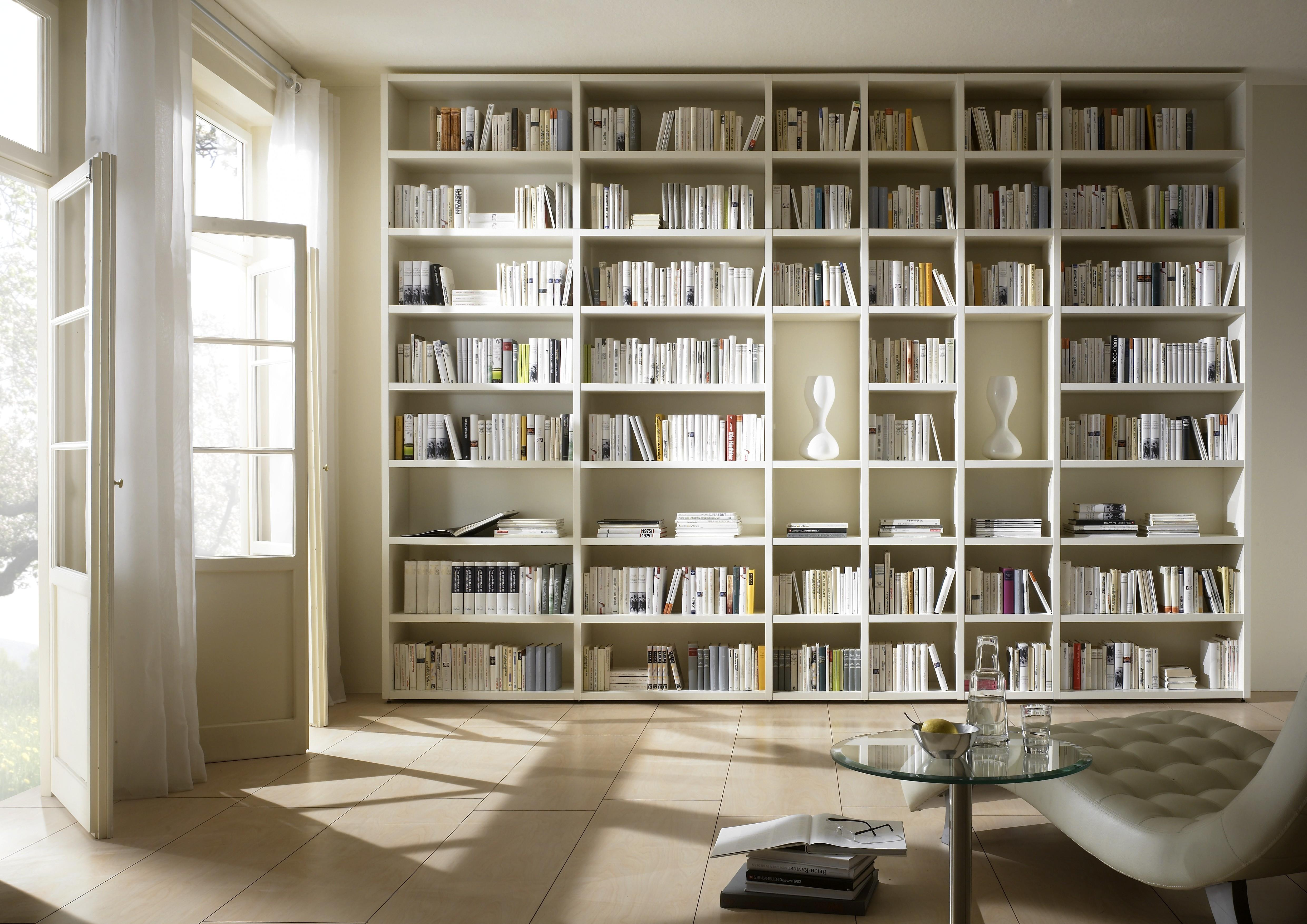Living Room Library Bookcase Brucall