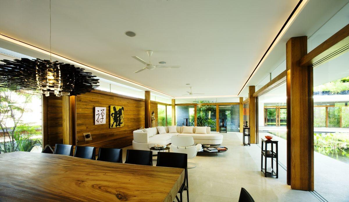 Living Room Luxury Green House Ideas Natural
