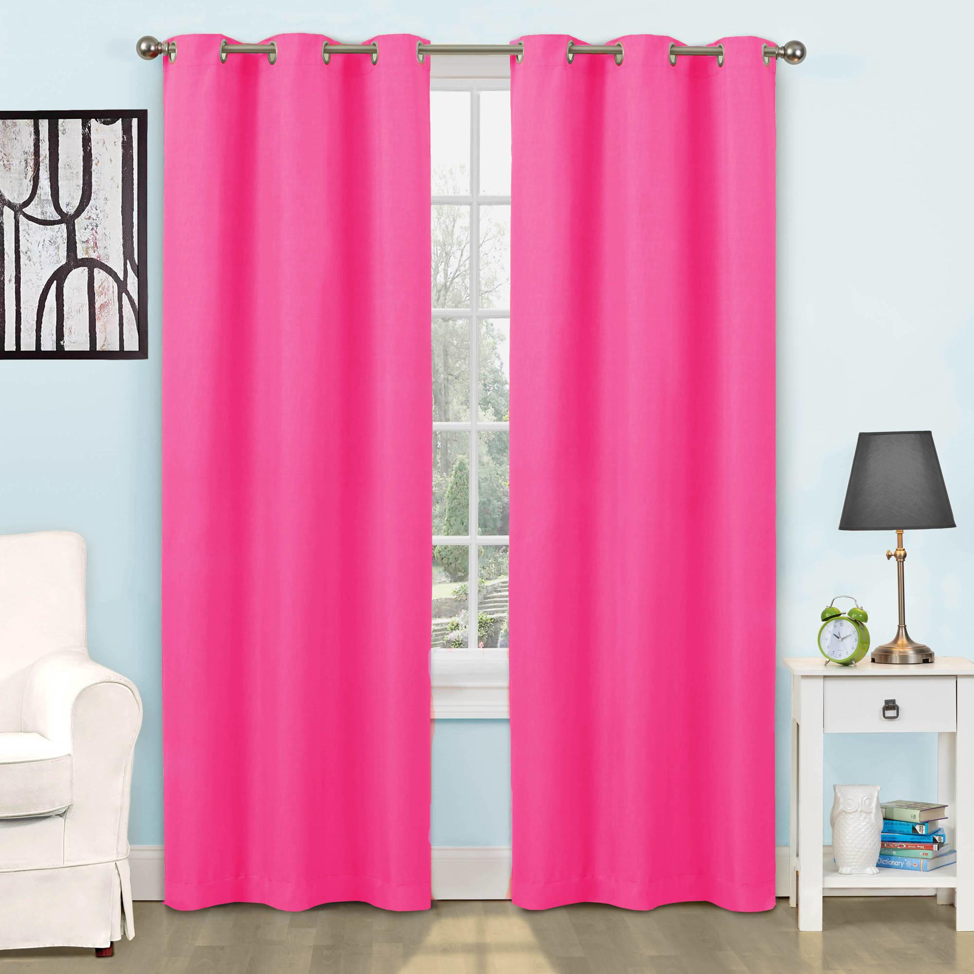 Living Room Sinsulated Curtains Heer Fabric