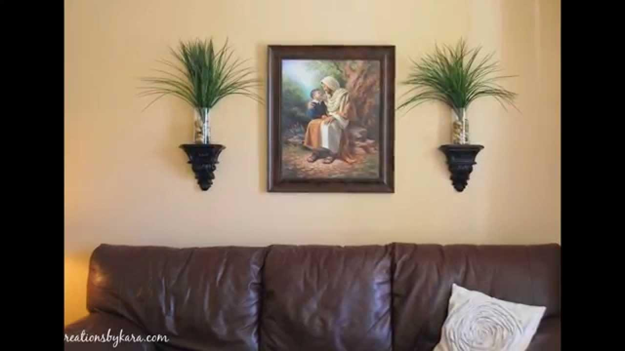 Living Room Wall Decor Ideas Diy Plus Hangings Trends
