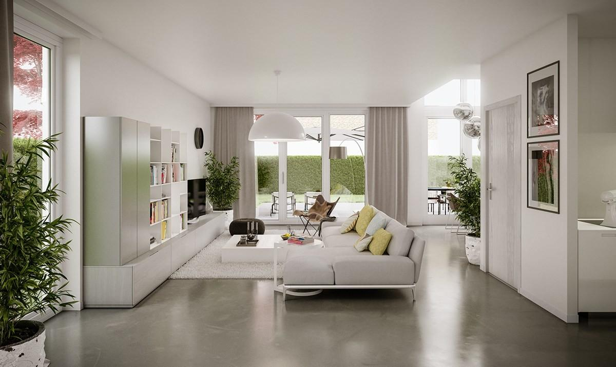 Living Rooms Demonstrate Stylish Modern Design Trends