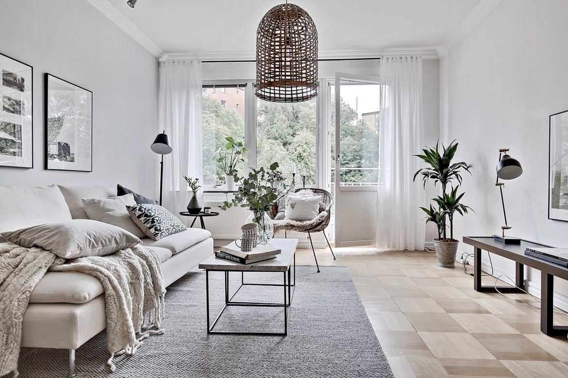 Living Rooms Help Master Scandinavian Design