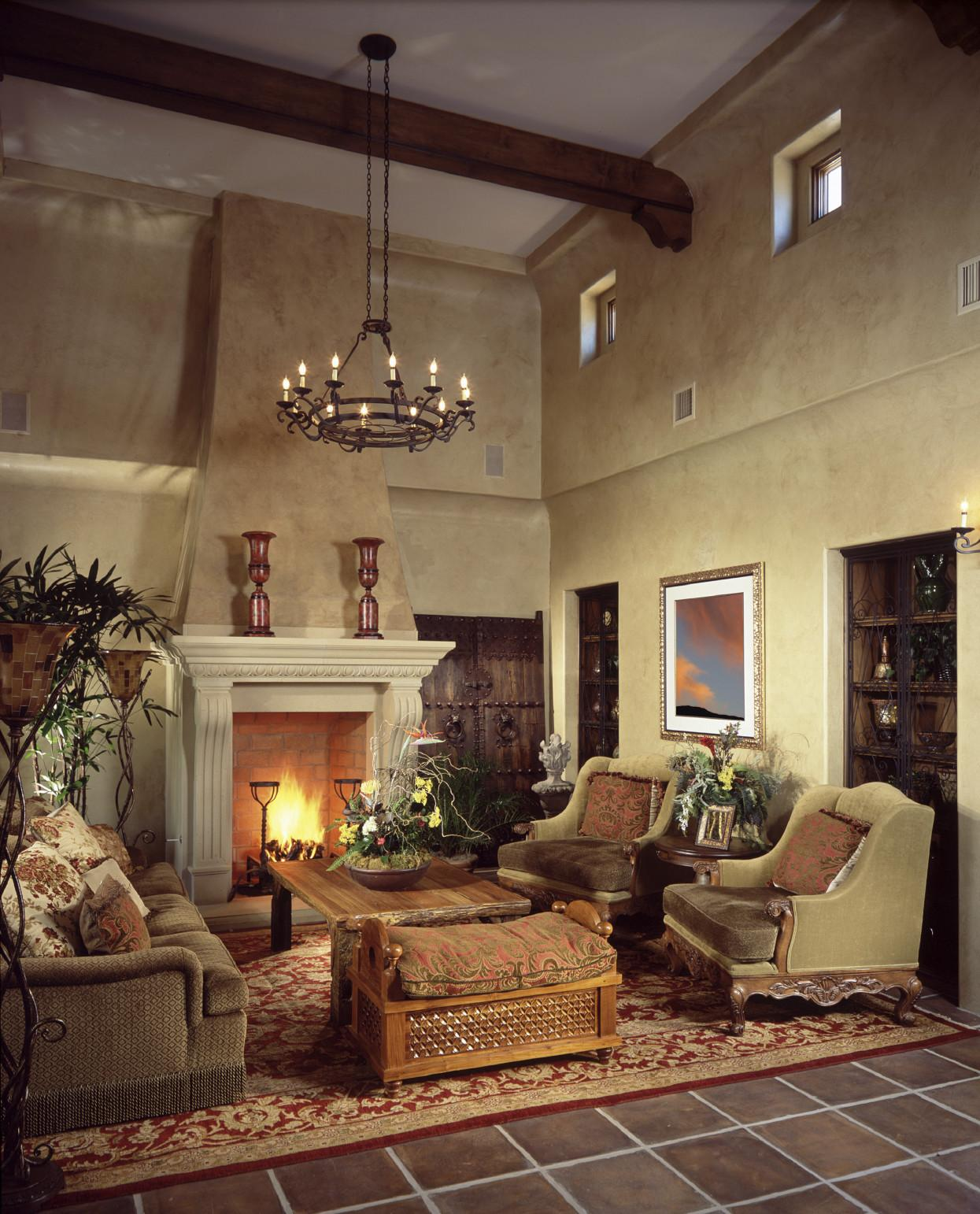 Living Rooms Soaring Story Cathedral Ceilings