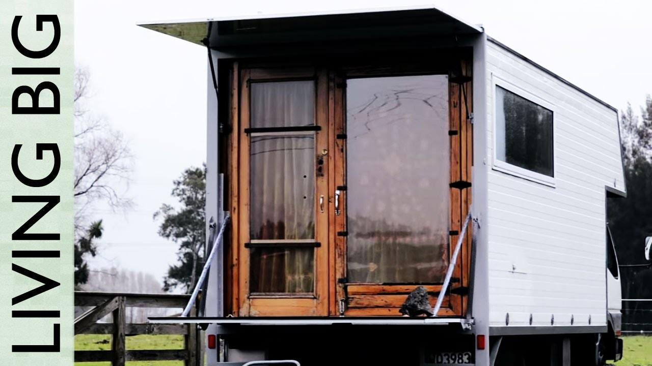 Living Simply Wonderful Tiny House Truck