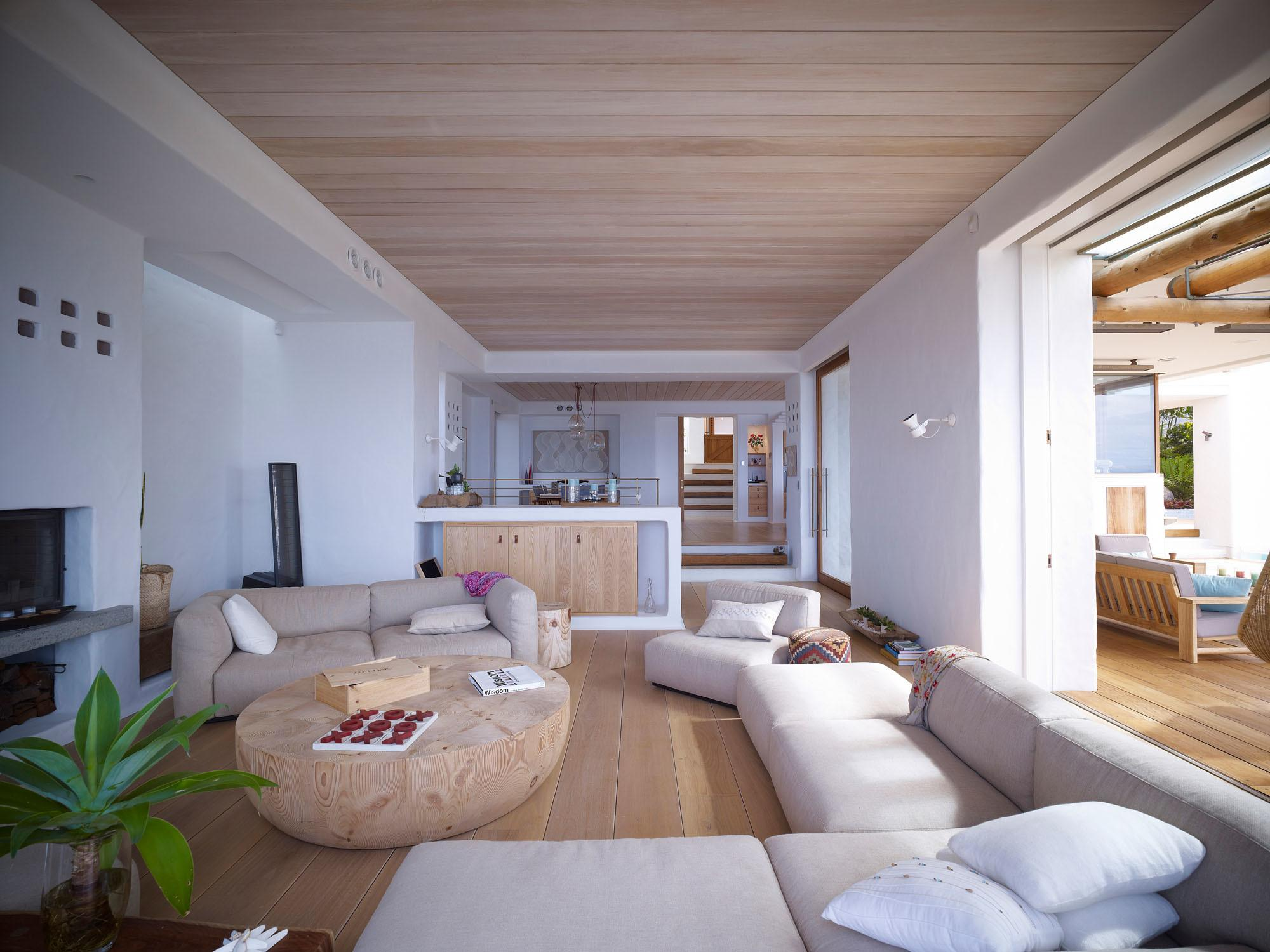 Living Space Wooden Coffee Table Beautiful Waterfront