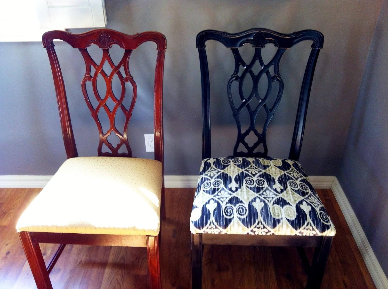 Living Style Diy Dining Room Chair Makeover