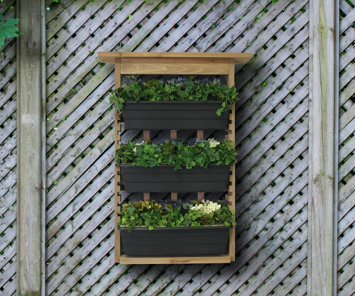 Living Wall Planter Relieving Plans