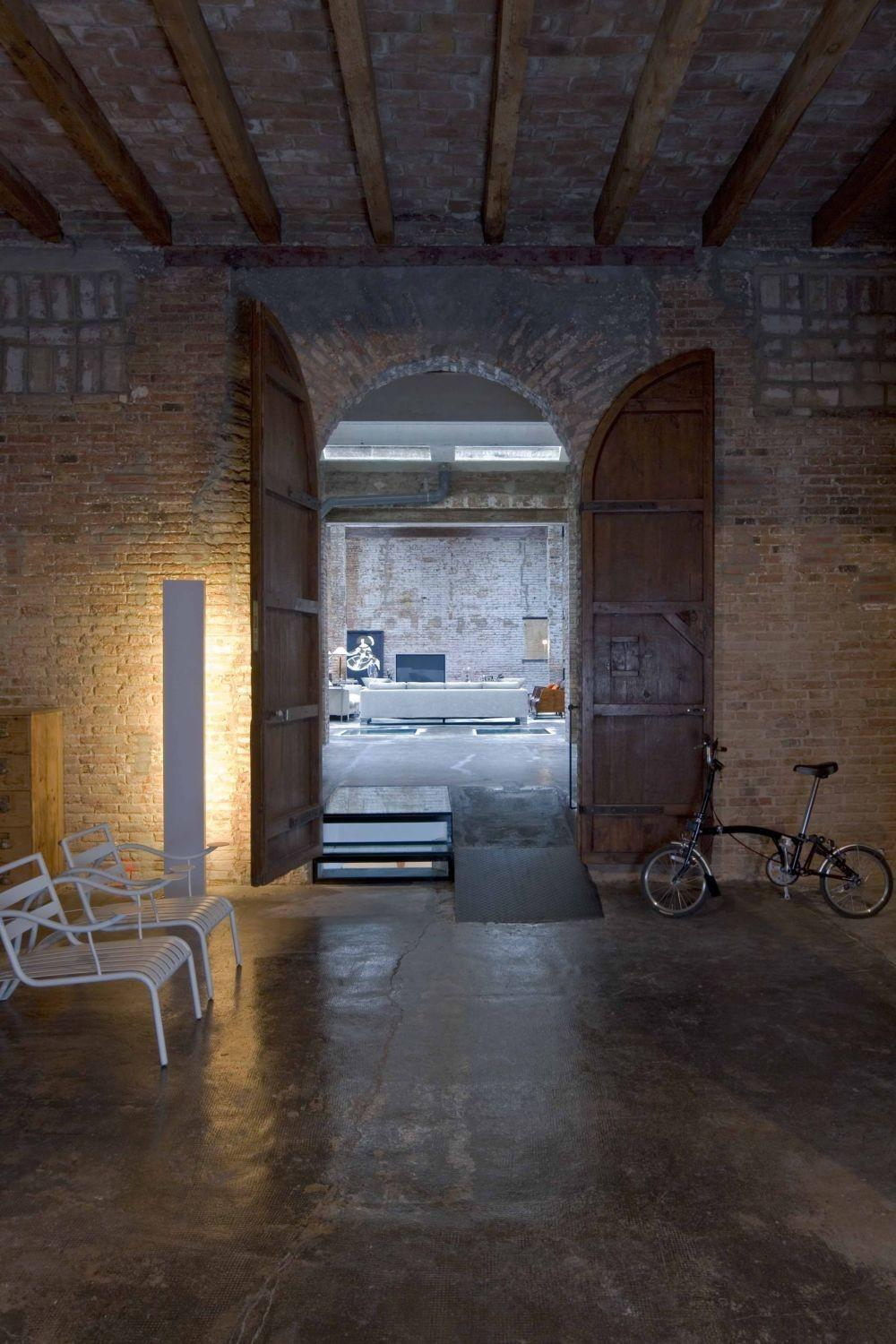 Loft Barcelona Warehouse Conversion Panda House