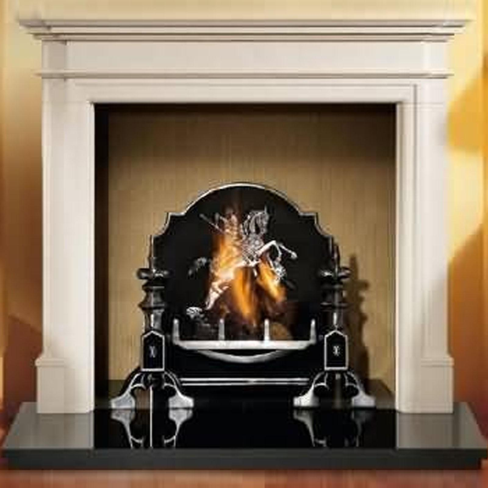 Log Electric Fireplace Flamerite Fires Aubade