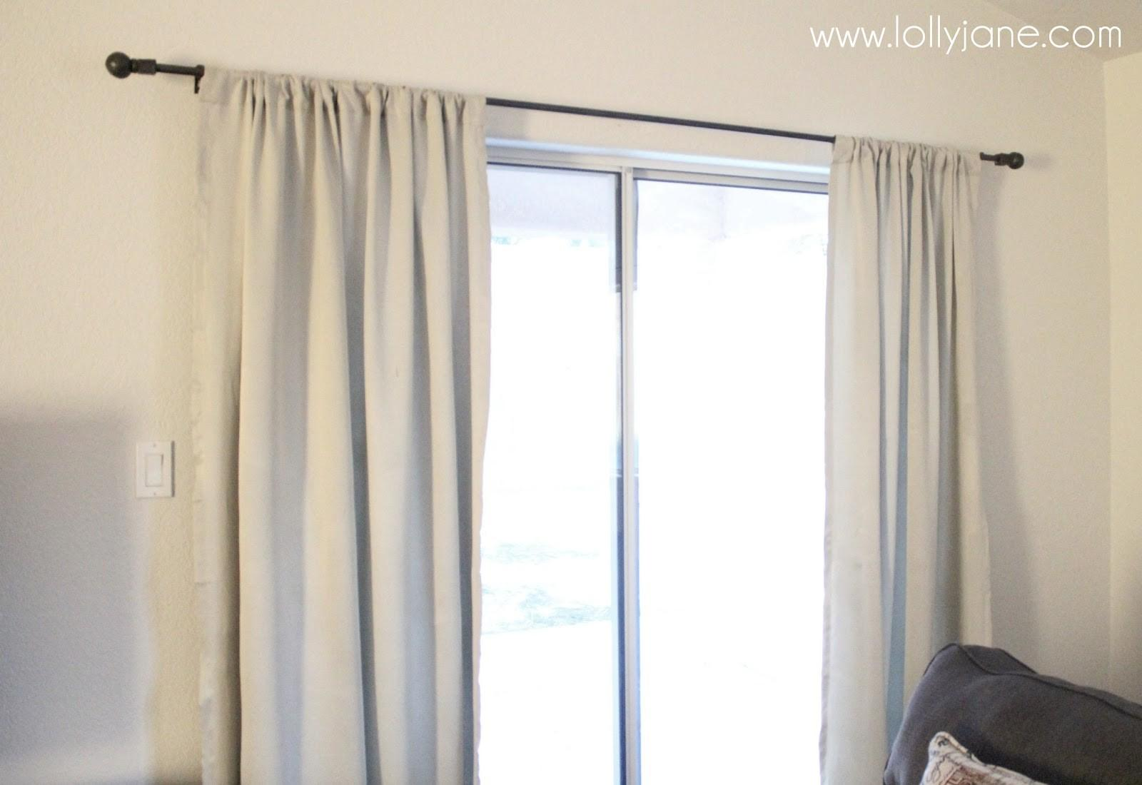Lolly Jane Craft Tutorials Diy Home Decor Curtain