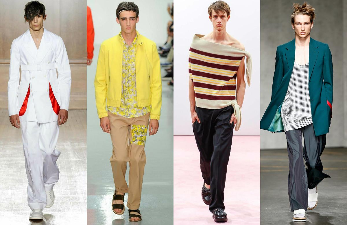 London Collections Men 2015 Spring Summer Trends
