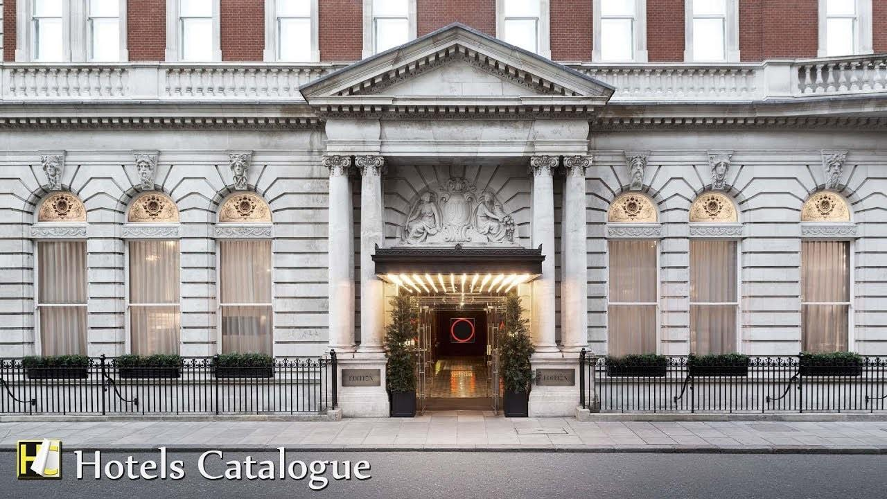 London Edition Hotel Overview Star Luxury Boutique
